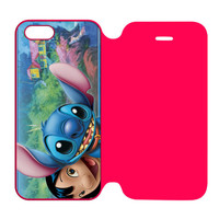 Disney Lilo And Stitch iPhone 5 | 5S Flip Case Cover