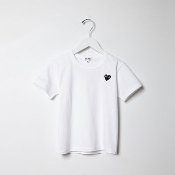Children s Jersey Tee by Comme des Gar amp;amp;#231;ons Play