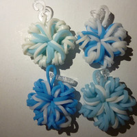 Loom Band Snowflake Charms Bundle