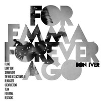 For Emma Forever Ago  Bon Iver / Album Cover Art LP by Sixteen9
