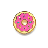 Strawberry Frosted Donut Pin