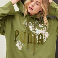Puma By Rihanna Embroidered Women Top Sweater Hoodie