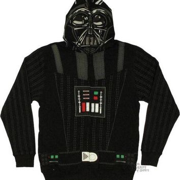 Star Wars Darth Vader Sith Full Face Costume Hoodie