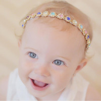 The Evelyn Diamond Headband