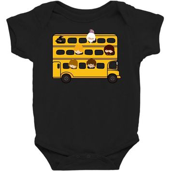 Harry Potter Schoolbus Baby Bodysuit