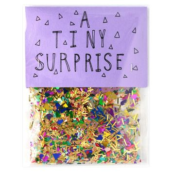 A Tiny Surprise Sparkly Confetti