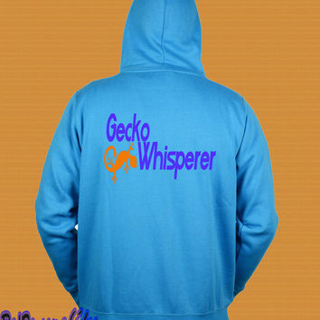 Gecko Whisperer Hoodie, for the Reptile Tamer, S-XXL Many Exclusive Design
