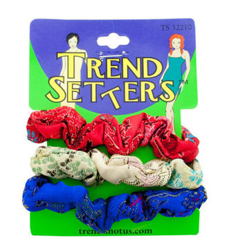 Asian Fabric Hair Twisters Set ( Case of 72 )