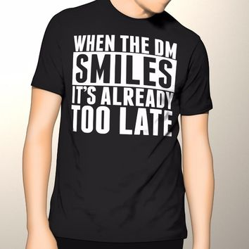 Dungeons and Dragons, Smiling Dungeon Master T-shirt