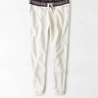 AEO Women's Sweater Trim Jogger Pant