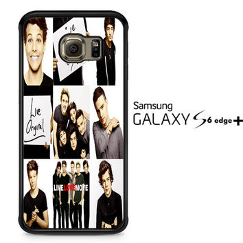 One Direction Live Love Mo F0131 Samsung Galaxy S6 Edge Plus Case