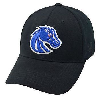 Licensed Boise State Broncos Official NCAA One Fit Wool Hat Cap by TOW 349770 KO_19_1
