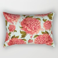 A Splash of Peony, A Dash of Color Rectangular Pillow by Kristy Patterson Design
