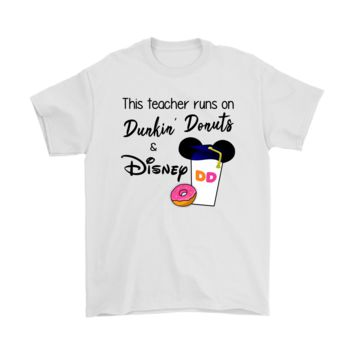 KUYOU This Teacher Runs On Dunkin' Donuts And Disney Shirts