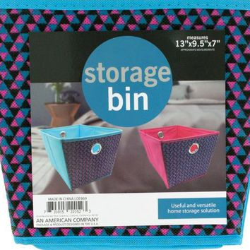 Cloth Storage Bin with Handles ( Case of 16 )