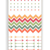 Chevron Polkadot for Iphone 4 / 4s Hard Cover Plastic