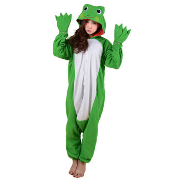 Unisex Adult Pajamas  Cosplay Costume Animal Onesuit Sleepwear Suit   Forg
