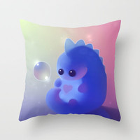 Lovu Dino Throw Pillow by Rihards Donskis | Society6