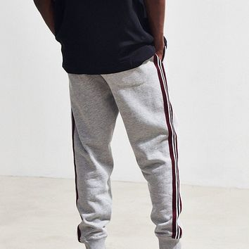 UO Terry Fleece Side Stripe Jogger Pant | Urban Outfitters