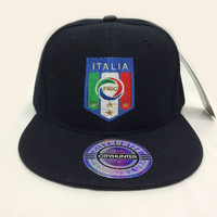 ITALY Soccer Hat/Cap World Cup Team Logo BRAZIL 2014 snapback, fitted, flexfit