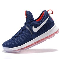 """Nike  Zoom  KD 9 Kevin Durant  Ⅸ """"US Team""""   Men's    Basketball Shoes"""
