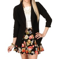 Black Miss Boss Blazer