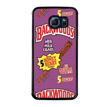 ONLY BACKWOODS CIGARS Samsung Galaxy S6 Edge Case