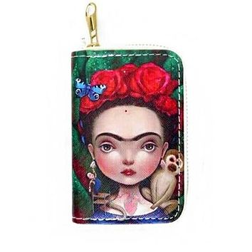 Frida Kahlo Novelty Wallet