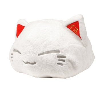 Nemuneko Puffy-fluffy Bigxbig Plush White 14in.