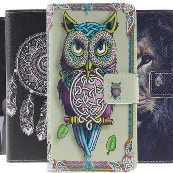 Case for Samsung Galaxy E5 E7 A3 A7 A5 J5 2016 Core Grand G530 G360 S3 S4 S5 S6 S7 Edge Flip Leather Phone Wallet Stand Cover