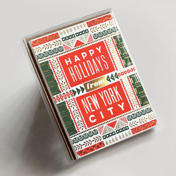 Happy Holidays from New York City Boxed Set