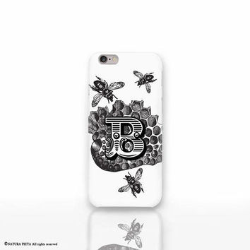 Bees insect iPhone X case-custom bumblebee iPhone 8/8 Plus-bee wasp iPhone 7/7 Plus iPhone 6/6 Plus-iPhone 5/5S-bee Galaxy-Huawei-NP3D218