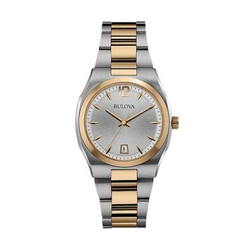 Bulova Women's Two Tone Stainless Steel Watch - 98M120