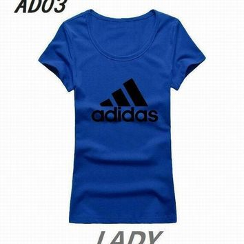 Adidas short round collar T woman S-2XL