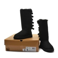 Women's UGG snow boots Long bow high boots DHL _1686248855-379