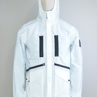 Marshall Artist AW17 Matte Reflex Jacket in Ice White