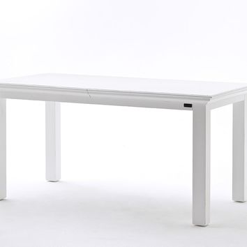Halifax Extension Table White semi-gloss