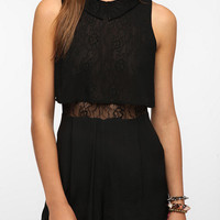 Urban Outfitters - Pins and Needles Lace Collar Romper