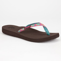 Reef Ginger Womens Sandals Brown  In Sizes