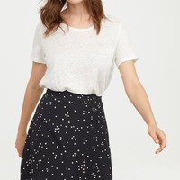 Crêped Skirt - Black/dotted - Ladies | H&M US
