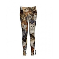 ☮♡ Cats on Cats on Cats Leggings ✞☆