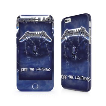Metallica Ride The Lightning iPhone 6/6 Plus Skin
