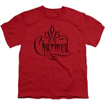 Charmed - Charmed Logo Short Sleeve Youth 18/1