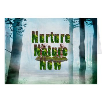 TEE Nuture Nature Now Card