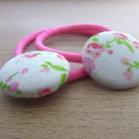 Kawaii  hair accessories ponytail holder -  hair accessories - pony tail - children accessories