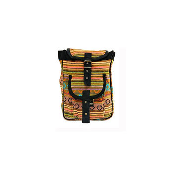 WillaRue Aztec Day Backpack Tangerine