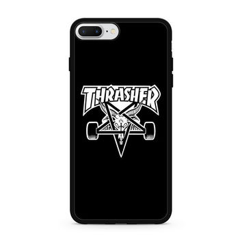 Thrasher Skate Rock Magazine For iPhone 7 and 7 Plus Hard Plastic Case