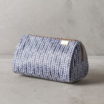 Brushstroke Beauty Pouch by Kestrel Blue One Size Clutches