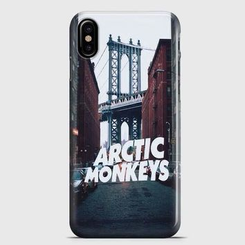 Arctic Monkeys City iPhone X Case