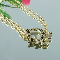 8DESS Dior Woman Fashion Accessories Fine Jewelry Chain Necklace